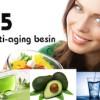 Anti-aging beslenmenin beş vazgeçilmezi