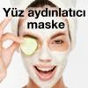 Yüz aydınlatıcı maske