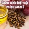 Üzüm çekirdeği yağı ne işe yarar?