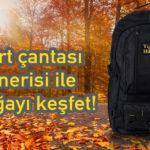 Sırt çantası önerisi ile doğayı keşfet!