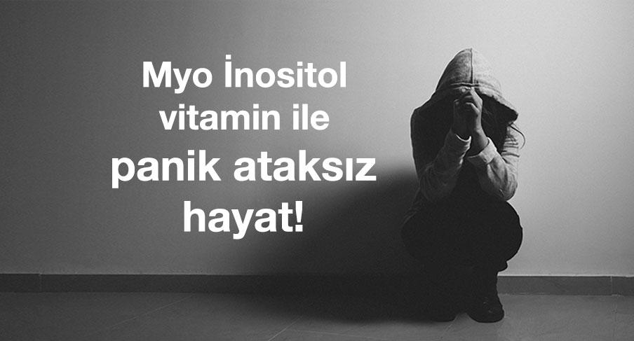 Myo İnositol vitamin (B8 vitamini) ile panik ataksız hayat seni bekliyor! Neşeli, mutlu, berrak bir zihin ile canlı, parlak saç ve tırnaklar 1 vitaminde toplanıyor!