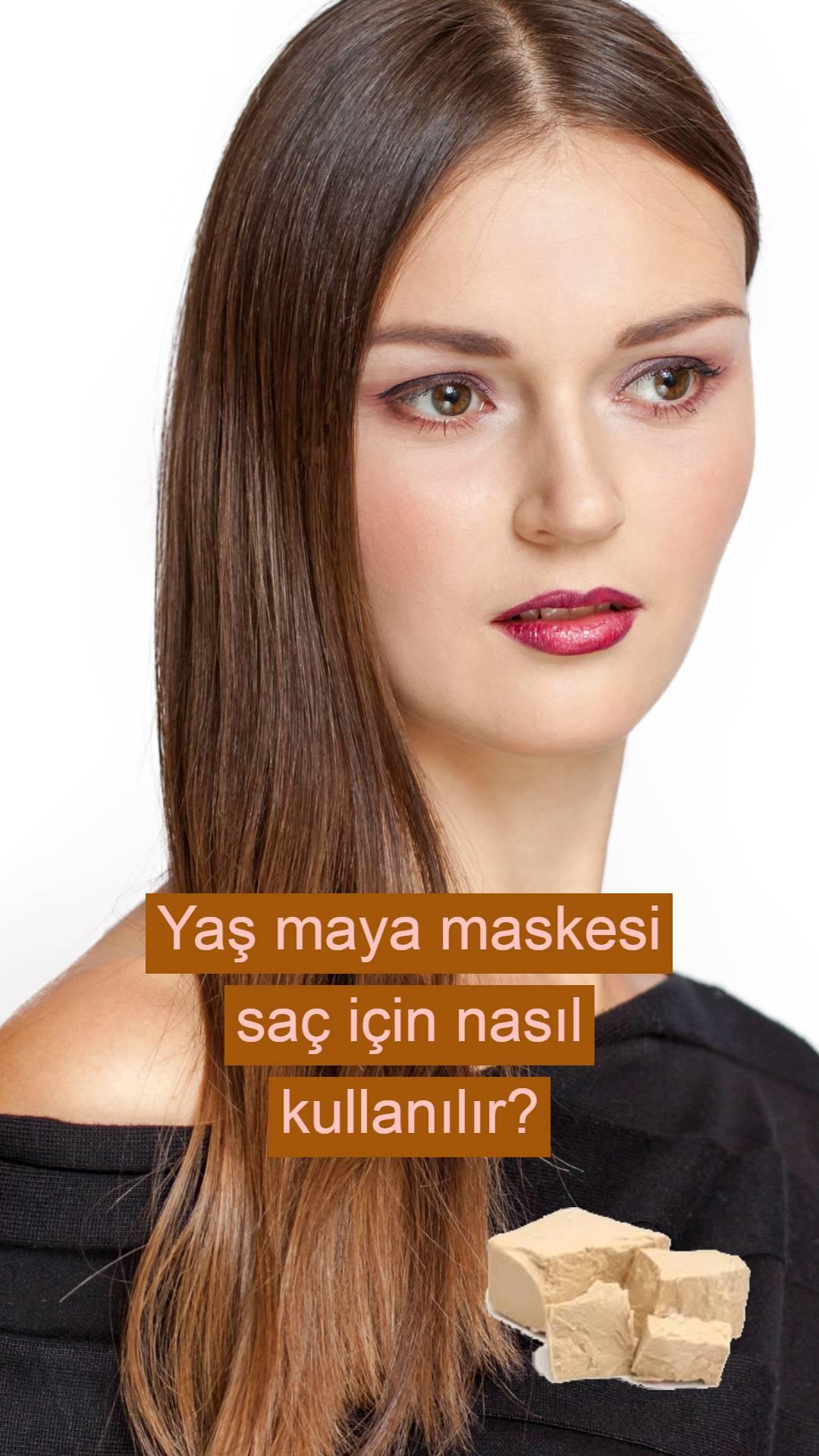 Yaş mayayla saç maskesi yaparak 10 günde daha dolgun, daha parlak, daha ipeksi saçlar!